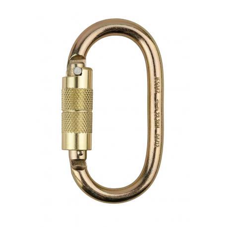 Self Lock silver Carabiner - FP31 - PORTWEST