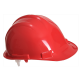 Casque chantier Endurance PP - PW50 - Rouge (05)