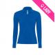 Polo femme 100% coton 180gr ML - Bleu roi (05)