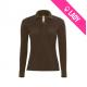 Polo femme 100% coton 180gr ML - Brun (11)
