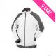 Two-tone fleece jacket Women (260g) - KAZAN - Blanc/Gris (02)