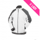 Veste polaire bicolore Femme (260g) - KAZAN - Blanc/Gris (02)