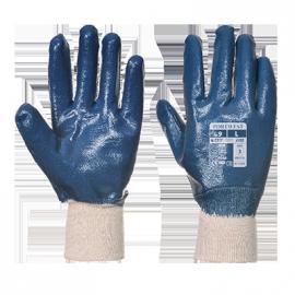 Gant Nitrile poignet tricot - A300
