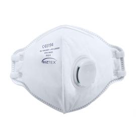 FFP3 Valved Dolomite Fold Flat Respirator - P351
