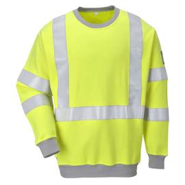 Flame Resistant Hi-Vis Sweatshirt - FR72