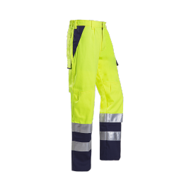 High Visibility trousers with ARC protection - ROYAN - short legs