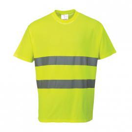 HV T-shirt Geel - S172
