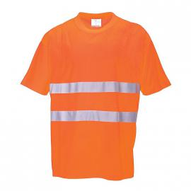 T-Shirt HV Orange - S172