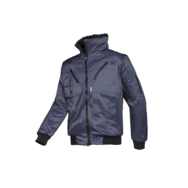 Winter bomber jacket with detachable sleeves - HAWK