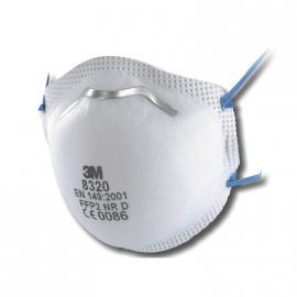 Masque poussières C P2 NR D - 8320