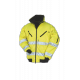 Hi-vis winter bomber jacket - 029A - Jaune (07)