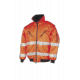 Hi-vis winter bomber jacket - 029A - orange (08)