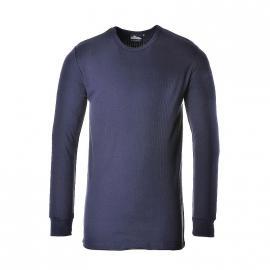T-shirt thermique ML Marine - B123