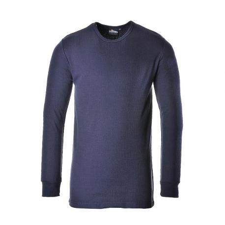 Thermal T-Shirt LS Navy - B123