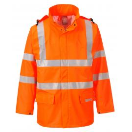 Sealtex Flame Hi-Vis Jacket Orange - FR41