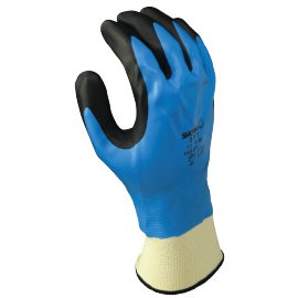 Safety glove nitrile coating - 377