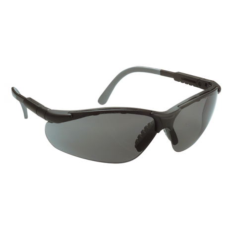 Safety glasses smoked, anti-scratch - Miralux - LUX OPTICAL