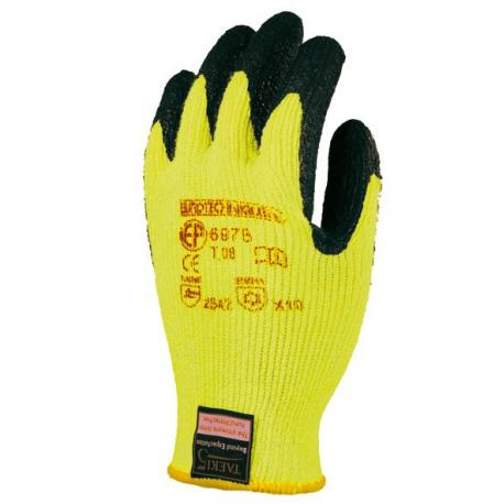 Gants anti coupure multifibres enduction isolante - Taeki 5® - EUROTECHNIQUE