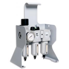 """Unité de filtration sur socle - entrée 3/8"""" BSP 3M™ Aircare"""