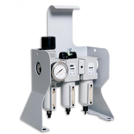 """Unité de filtration sur socle - entrée 3/8"""" BSP 3M™ Aircare - 3M"""