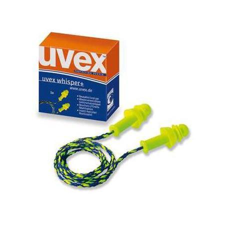 Protection auditive  avec cordelette 50pr - UVEX