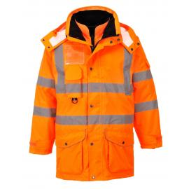 Parka HV 7 en 1 orange - RT27