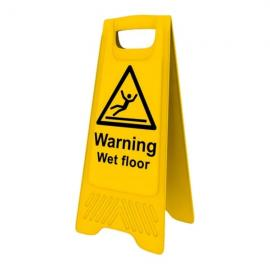 HV21 - Euro Wet Floor Warning Sign