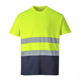 T-Shirt HV bicolore - S173