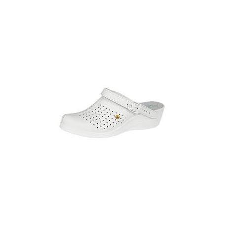 Sabot blanc Abeba 5001 ESD SRC - ABEBA
