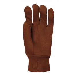 Heavy cotton jersey stitched gloves - 4185