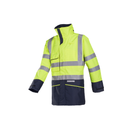 Flame retardant HV, anti-static rain bomber jacket - Hedland