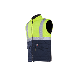 Flame retardant, anti-static HV bodywarmer - Bravone