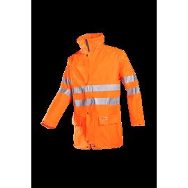High Visibility rain jacket - KASSEL