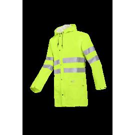 High Visibility rain jacket - UNZEN