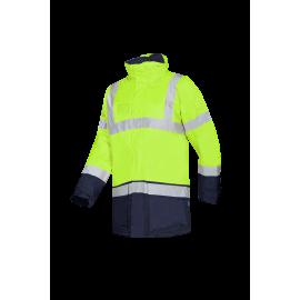 High Visibility winter rain jacket - LIGHTFLASH