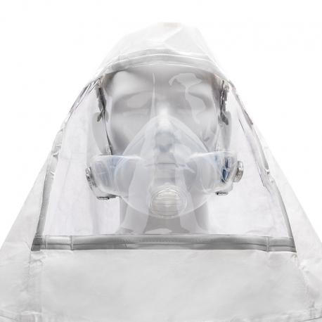 CleanSpace Hood with Visor (Biohazard fluid/Blood resistant) - PAF-0097 - CLEANSPACE