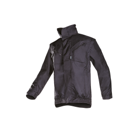 Winter bomber jacket with detachable sleeves - TEMPA