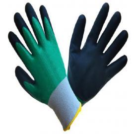 Polyethylene gloves, double nitrile coating  - U2 GRIP FULL
