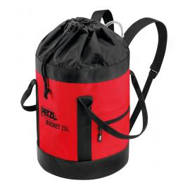 Pack BUCKET 25 L Red/black