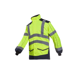 Jacket HV with detachable sleeves - ALFORD