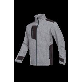 Laminated softshell jacket - GARLIN