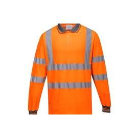 Hi-Vis Long Sleeved Polo - S271
