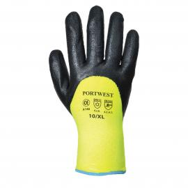 Artic Winter Gloves Yellow/Black - A146