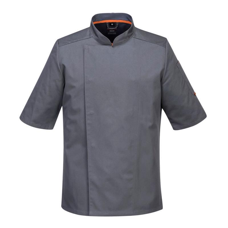 Portwest 2XL Black MeshAir Pro Chefs Kitchen Workwear Jacket