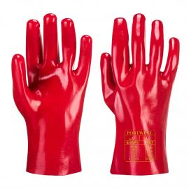 Gauntlet PVC Red (27 cm) - A427
