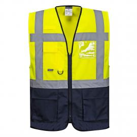HV Vest Yellow/Navy - C476