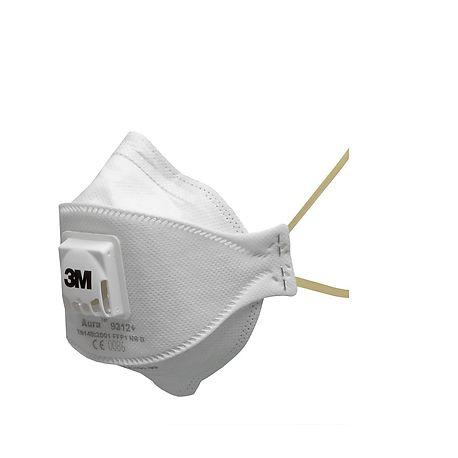 Masque poussières P V P1 NR D - 9312+ - 3M