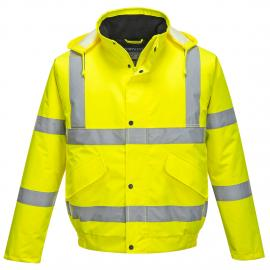 High Visibility Bomber Jacket Yellow - S463