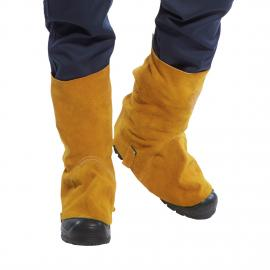 Leather welding boot cover - SW32