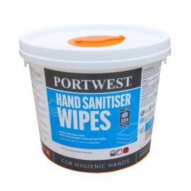 Hand Sanitiser Wipes (225 Wipes) - WIW40
